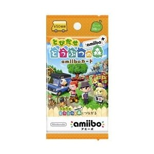 [メール便OK]【新品】【3DSH】『とびだせ どうぶつの森amiibo+』 amiiboカード|asakusa-mach