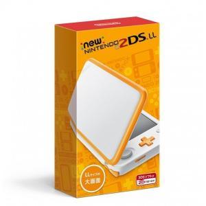 [1営業日※在庫品]【37%OFF】<【2DSH】Newニンテンドー2DS LL ホワイト×オレンジ...