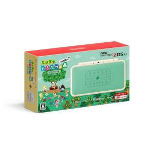[宅配便限定]【即納可能】【新品】【3DSH】Newニンテンドー2DS LL とびだせ どうぶつの森 amiibo+パック|asakusa-mach