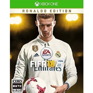 [宅配便限定]【新品】【XboxOne】【限】FIFA 18 RONALDO EDITION|asakusa-mach