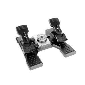 【即納可能】新品 Logicool Flight Rudder Pedals ロジクールトーブレーキ搭載プロラダーペダルシミュレーションコントローラー G-PF-RP【送料無料※沖縄除く】|asakusa-mach