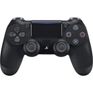 【新品】【PS4HD】ワイヤレスコントローラー(DUALSHOCK4) ジェット・ブラック New[在庫品] asakusa-mach