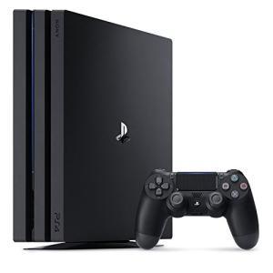 特典付【即納可能】【新品】プレイステーション4 PRO ジェット・ブラック 1TB CUH-7100BB01【送料無料】PS4本体