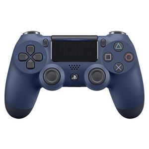 【新品】【PS4HD】ワイヤレスコントローラー(DUALSHOCK4)ミッドナイト・ブルー[在庫品] asakusa-mach