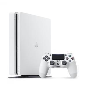 <【PS4HD】プレイステーション4 グレイシャー・ホワイト500GB(CUH-2200AB02)>...