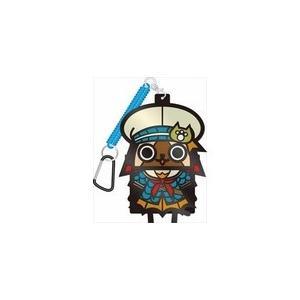 [メール便OK]【新品】【MH4】モンスターハンター ダイカットラバーパスケース ガレオスネコシリーズ[お取寄せ品] asakusa-mach