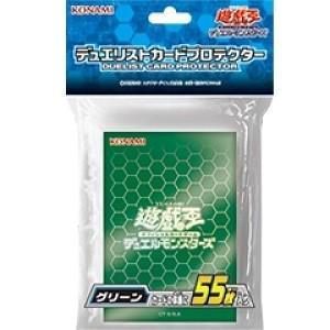 [メール便OK]【新品】【TTAC】(CG1555)遊戯王 カードプロテクター グリーン|asakusa-mach