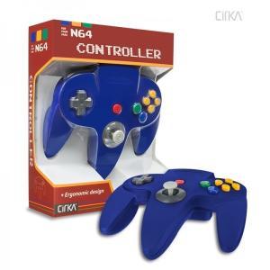 [宅配便限定]【新品】【N64】N64 Cirka Controller-Blue|asakusa-mach