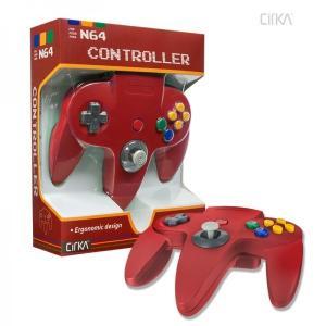 [宅配便限定]【新品】【N64】N64 Cirka Controller-Red|asakusa-mach