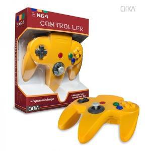 [宅配便限定]【新品】【N64】N64 Cirka Controller-Yellow|asakusa-mach