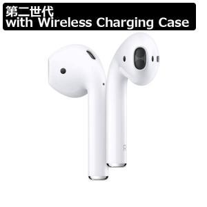 【即納可能】【新品・未開封】Apple AirPods 第二世代 with Wireless Charging Case 海外版【ワイヤレス充電対応】【並行輸入品】【正規品】Bluetooth asakusa-mach
