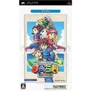 [メール便OK]【中古】【PSP】ロックマンDASH 鋼の冒険心【カプコレ】[お取寄せ品] asakusa-mach