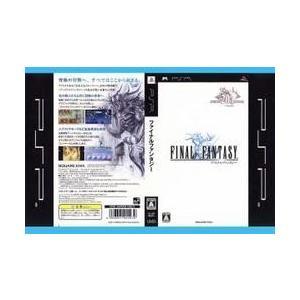 [メール便OK]【中古】【PSP】ファイナルファンタジー[お取寄せ品]|asakusa-mach