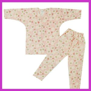 鯉口シャツ パンツ 子供 桜 祭り ダボシャツ ズボン (z奴E1310) ◆桜柄の鯉口シャツ・パン...