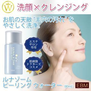 毛穴の汚れも洗顔もクレンジングもこの1本 EBM ルナゾーム...