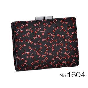 印傳屋 がま札財布 1604|asanoya