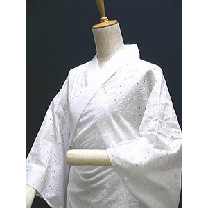 盛夏用 女性用綿レース長襦袢 -LLサイズ-|asanoya