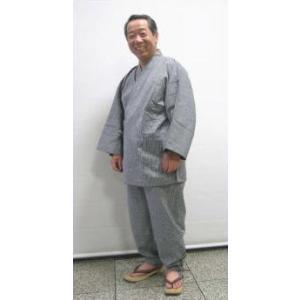 Basic 無地調作務衣 −LLサイズ− asanoya