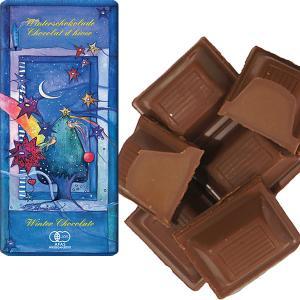 フェアトレードウインターチョコレート 100g 【オーガニック 有機栽培】【添加物不使用】【冬季限定】【メール便対応不可】|asante