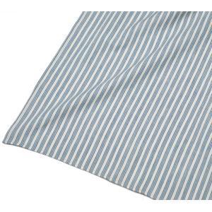 カディ草木染クロス トリプルストライプ(藍)|asante