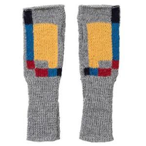 アルパカ100% 指なし手袋(スクエア) asante