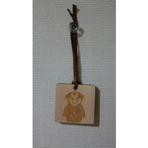 十三郎木札 映画「殿、利息でござる!」の応援キャラクターアサヒナ十三郎のかわいい木札です。