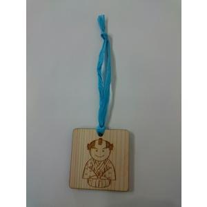 殿、あっぱれでござる! 木札 殿の金メダルを祝して、金メダルをさげた殿の木札を作りました。