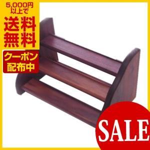 エッセンスボトル用 木製ラック Cタイプ 3段 エッセンス用ラック|asatsuyu