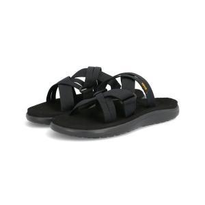 Teva テバ W VOYA SLIDE レディースサンダル【超軽量】(ウィメンズボヤスライド) 1099269B BLK ブラック|靴の通販総合オンラインASBee