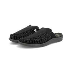 KEEN キーン UNEEK 2 SLIDE メンズサンダル(ユニーク2スライド) 1022371 ブラック/ブラック|asbee