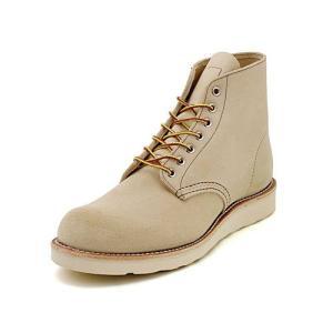 REDWING (レッドウィング) CLASSIC WORK ROUND TOE(クラシックワーク ラウンド トゥー) 8167 ベージュスエード|靴の通販総合オンラインASBee