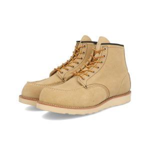 REDWING (レッドウィング) CLASSIC WORK MOC TOE(クラシックワーク モック トゥー) 8173 ベージュスエード|靴の通販総合オンラインASBee