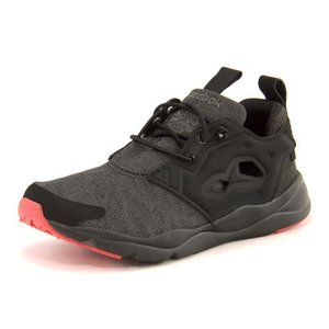 Reebok(リーボック) FURYLITE SOLE(フューリーライトソール) BD4624 ブラック/ブラック/グラベル/ファイアーコーラル|asbee