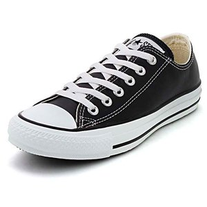 converse(コンバース) LEA ALL STAR OX(レザーオールスターOX) 1B906 ブラック(レディース)|スニーカー レディース|asbee