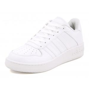adidas(アディダス) TEAM COURT(チームコート) AQ1289 ランニングホワイト/ランニングホワイト/マットシルバー|asbee