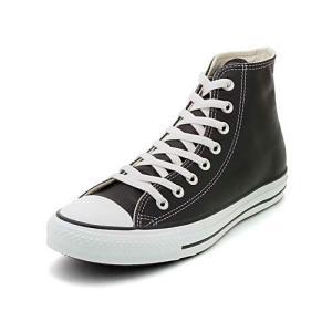 converse(コンバース) LEA ALL STAR HI(レザーオールスターHI) 1B908 ブラック(メンズ)|スニーカー メンズ|asbee