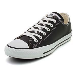 converse(コンバース) LEA ALL STAR OX(レザーオールスターOX) 1B906 ブラック(メンズ)|スニーカー メンズ|asbee