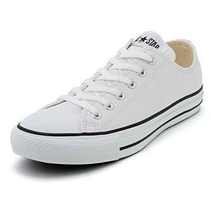 converse(コンバース) LEA ALL STAR OX(レザーオールスターOX) 1B905 ホワイト(メンズ)|スニーカー メンズ|asbee
