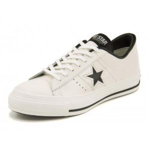 コンバース converse ONE STAR J ワンスターJ 32346510 ホワイト/ブラッ...