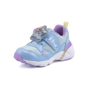 Disney(ディズニー) アナと雪の女王 キッズ ライトアップスニーカー【光る靴】 DN C1226 サックス|asbee