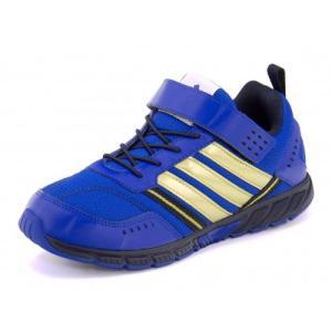 adidas(アディダス) ADIDAS FAITO LT EL K(アディダスファイトLTELK) M18506 ブルービューティー/シルバーメット/カレッジネイビー|asbee