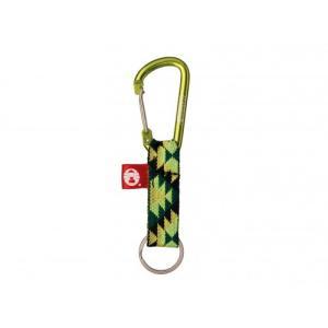 Coleman(コールマン) KEY RING WITH CARABINER(キーリングウィズカラビナ) 2000013461 グリーン|asbee
