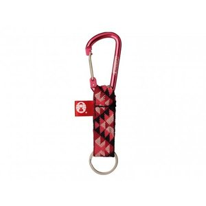 Coleman(コールマン) KEY RING WITH CARABINER(キーリングウィズカラビナ) 2000013462 ピンク|asbee