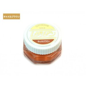 COLUMBUS(コロンブス) レザリアン ゴールド(乳化性 シュークリーム) 71036 キャメルブラウン|asbee