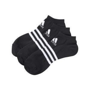 adidas(アディダス) BASIC 3P アンクル (3足組) DDV02 F91673 ブラック/ホワイト|asbee
