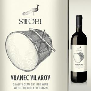 Vranec Vilarov  ヴラネッツ・ヴィラロフ 【赤ワイン】 750ml ミディアムボディ|asc-wineshop