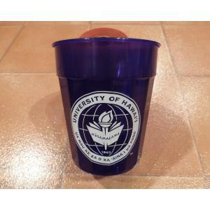 プラスティックカップ ハワイアスレチックス ハワイ大学 UH 公式グッズ ハワイユニバーシティ パーティーグッズ|aseff