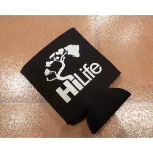 <ネコポス対応商品> カンクーラー HiLife ハイライフ 黒 ハワイ usdm hdm アメリカン雑貨 保冷 保温|aseff