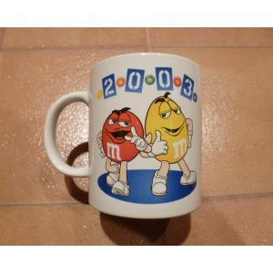 マグカップ エムアンドエムズ M&M'S 2003 アメリカ雑貨 アンティーク エム&エムズ コーヒーカップ|aseff
