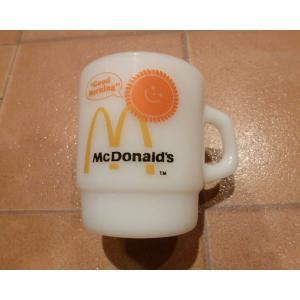 ファイヤーキング マクドナルド USED アメリカン雑貨 アンティーク ノベルティ マック マクド コーヒー カップ|aseff